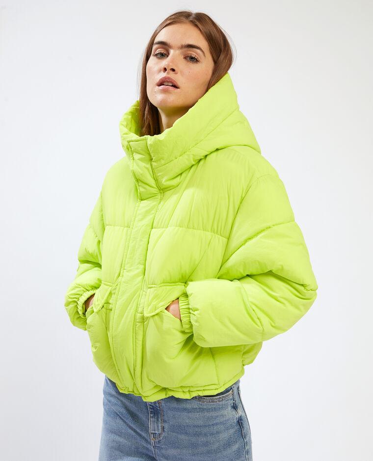 Doudoune à capuche vert - Pimkie