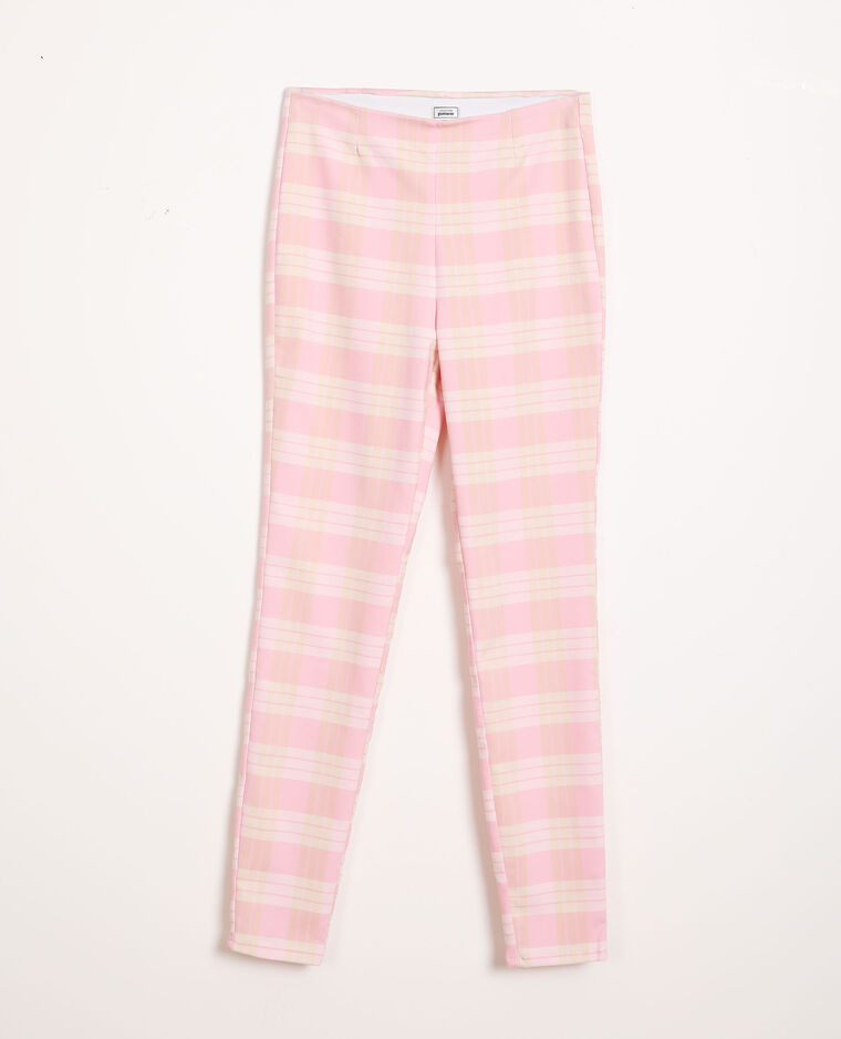 Pantalon stretch rose