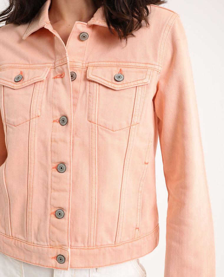 Veste en jean rose pâle - Pimkie
