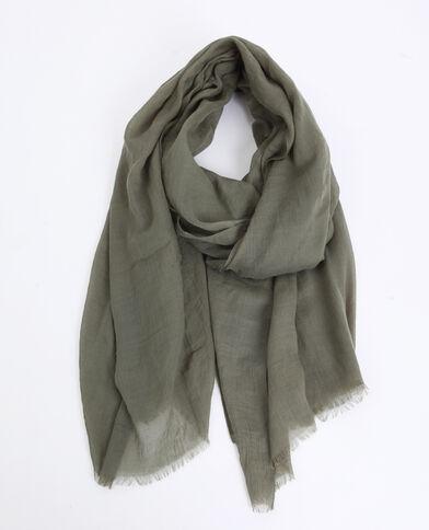 398d3066c10 Foulard léger vert