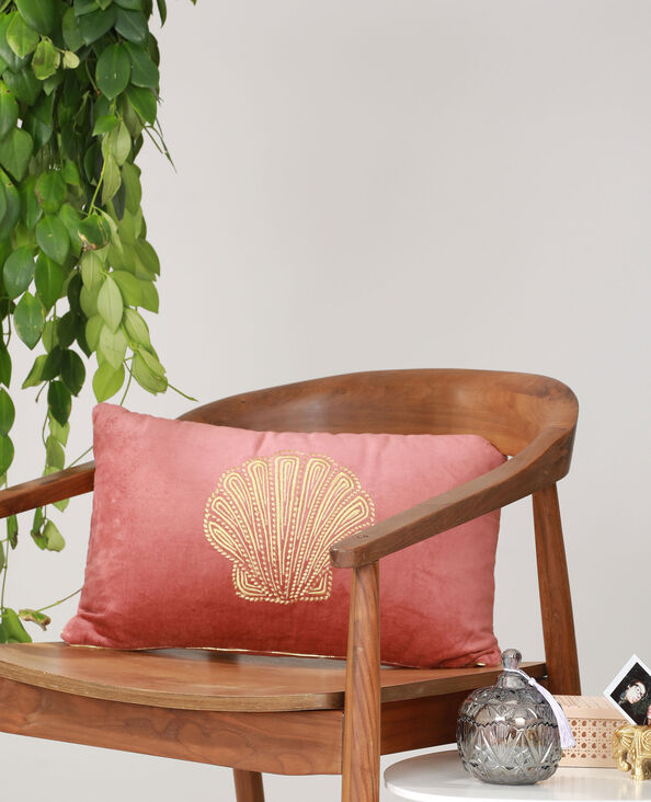 Coussin coquillage rose - Pimkie