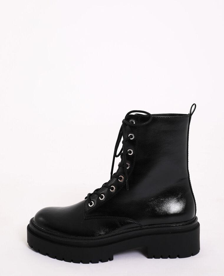 Boots rock noir - Pimkie