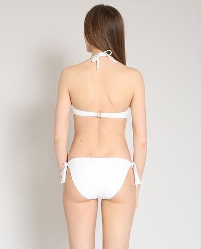 Haut de bikini corbeille écru