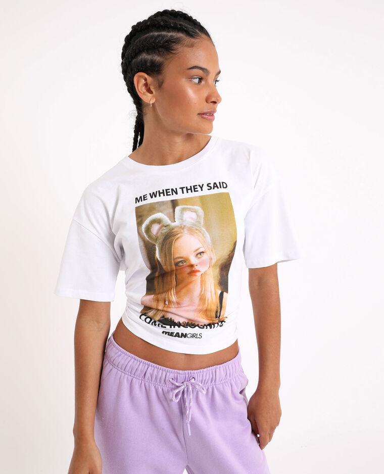 T-shirt Mean Girls écru - Pimkie
