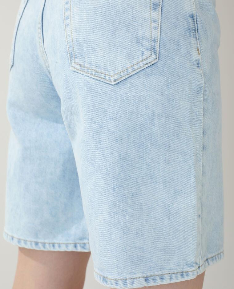 Bermuda en jean bleu clair - Pimkie