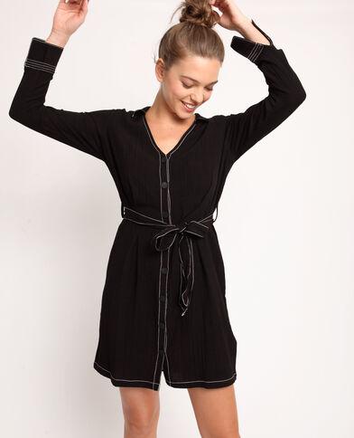21915819f79 Robe chemise noir