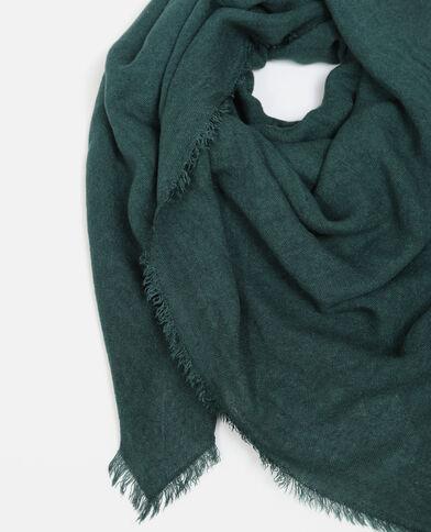 Foulard fin vert