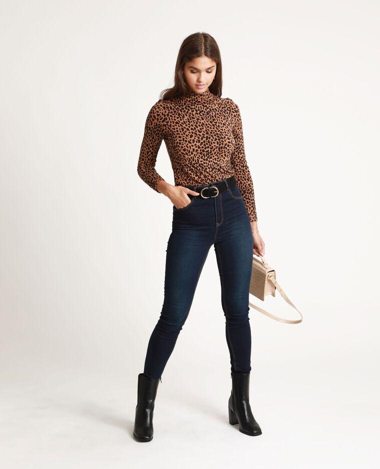T-shirt léopard marron - Pimkie