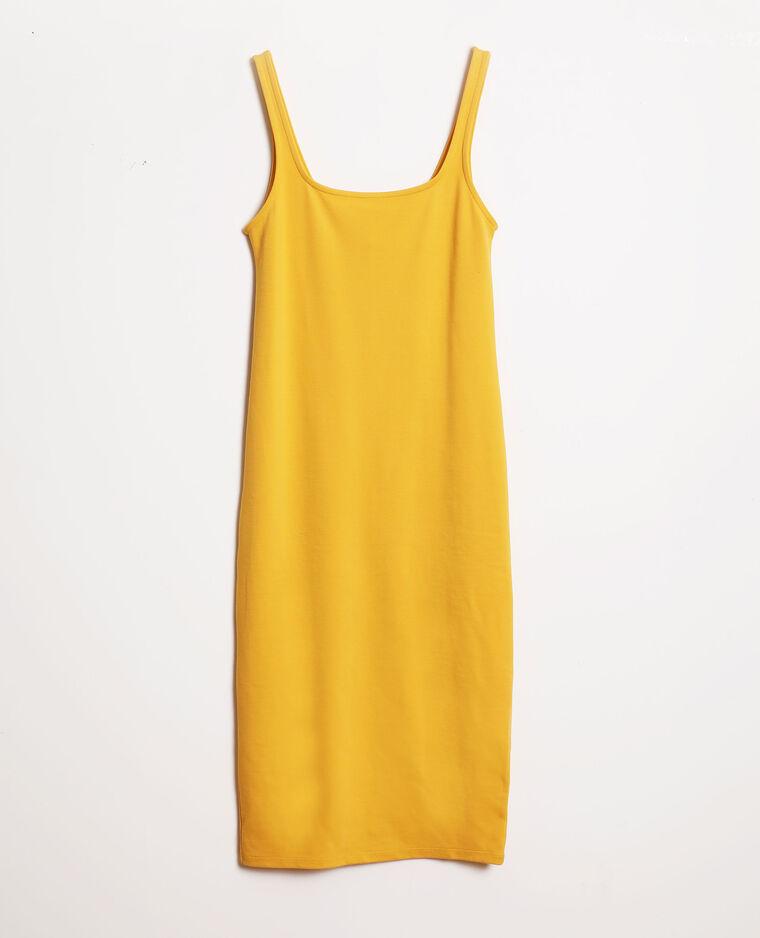 Robe bodycon jaune