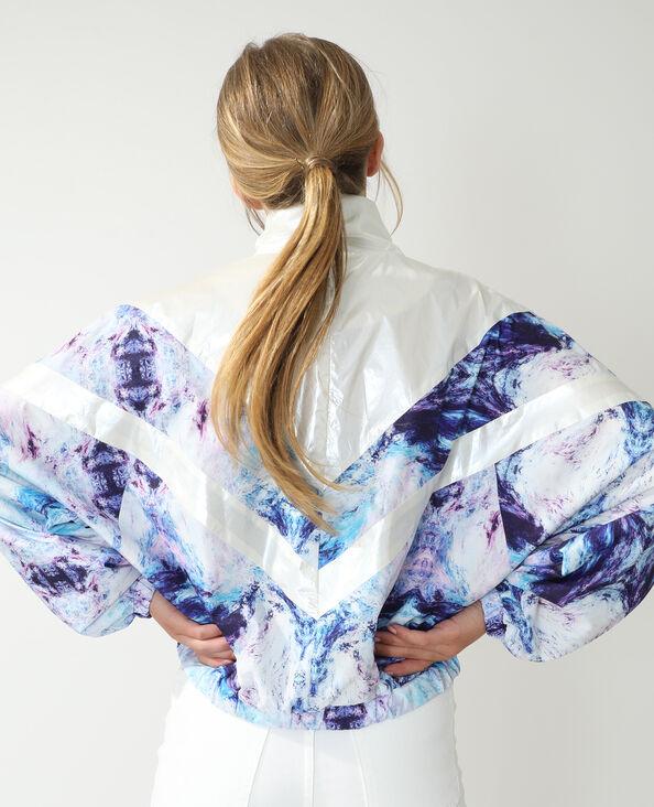 Coupe-vent marbré violet - Pimkie
