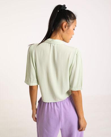 Chemise à manches courtes vert - Pimkie