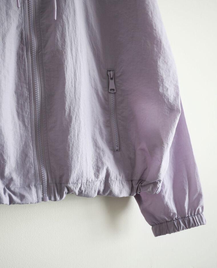 Coupe-vent à capuche violet - Pimkie