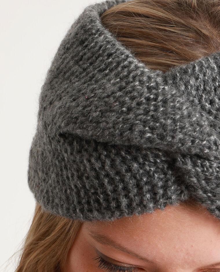 Headband épais pour cheveux gris