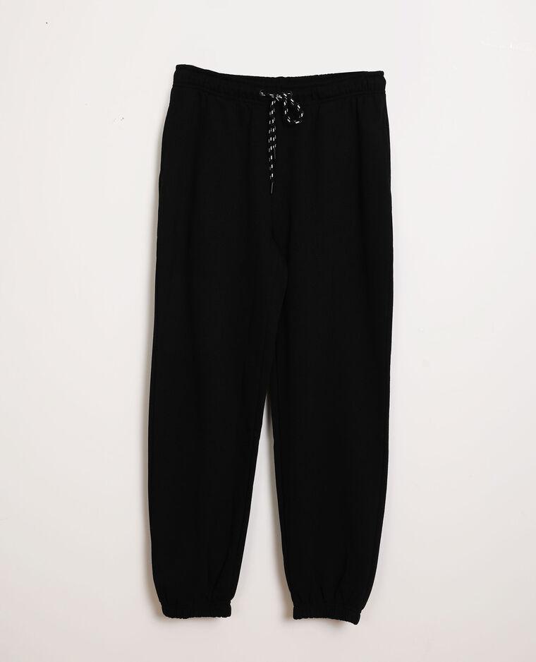 Pantalon molleton noir