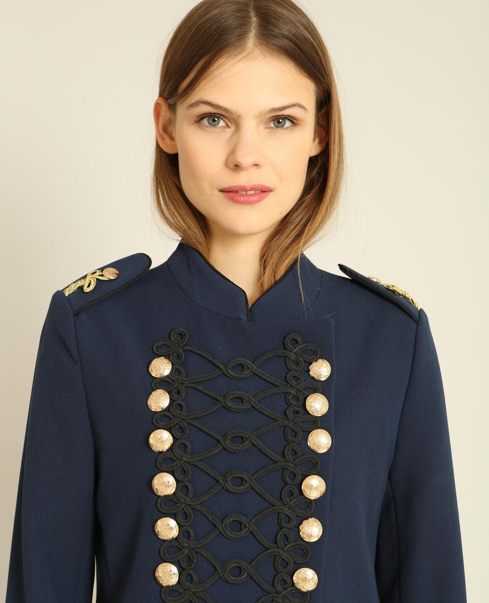 Veste officier femme bleu marine