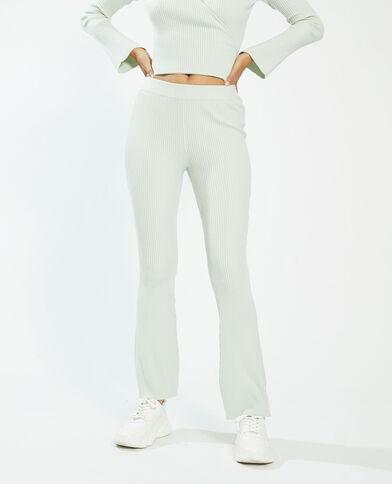 Pantalon côtelé vert - Pimkie