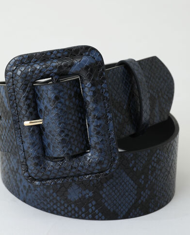 Ceinture python noir