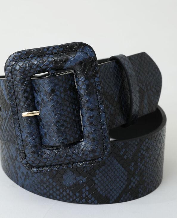 Ceinture python noir - Pimkie