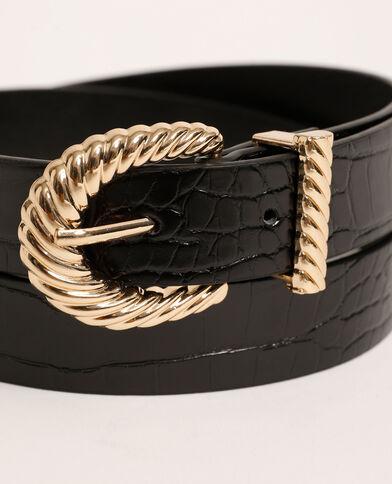 ceinture noire noir - Pimkie