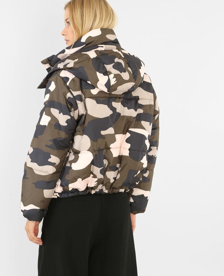 Doudoune oversize camouflage kaki - Pimkie
