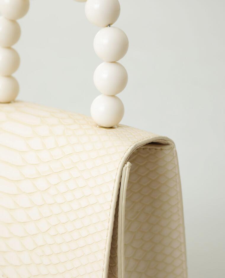Sac à main perle beige - Pimkie