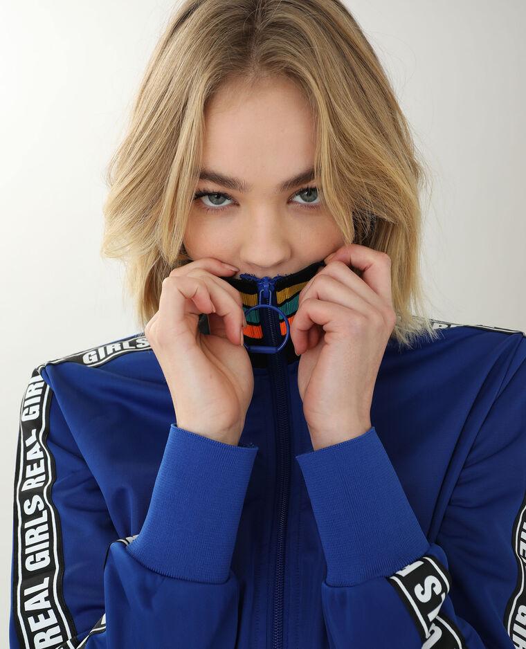 Veste zippée bleu électrique - Pimkie