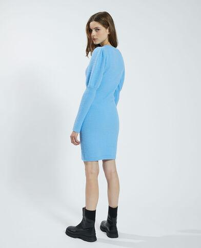 Robe pull douce bleu - Pimkie