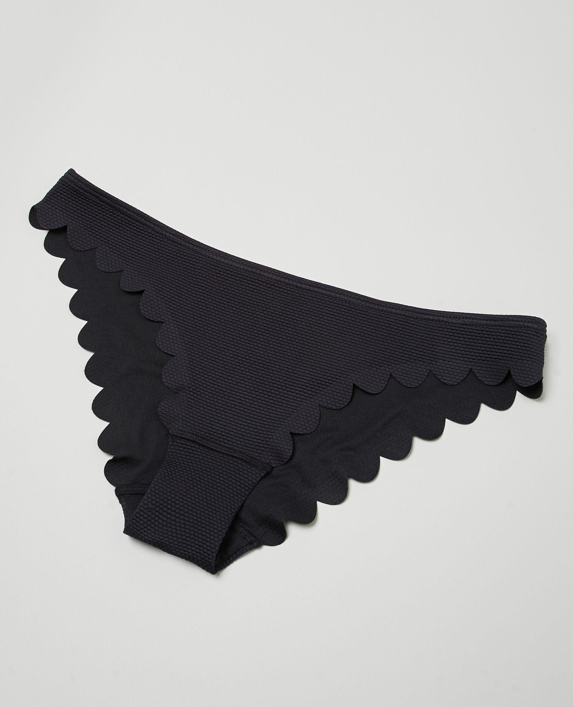 Bas de maillot de bain, Noir