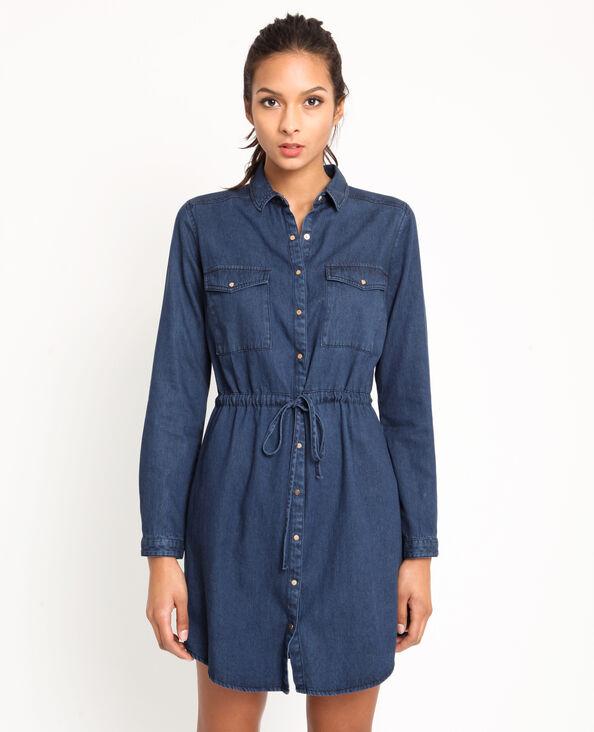 Robe en jean bleu foncé f7b5d8a49bfc