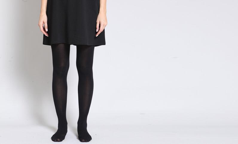 Collants opaques noir