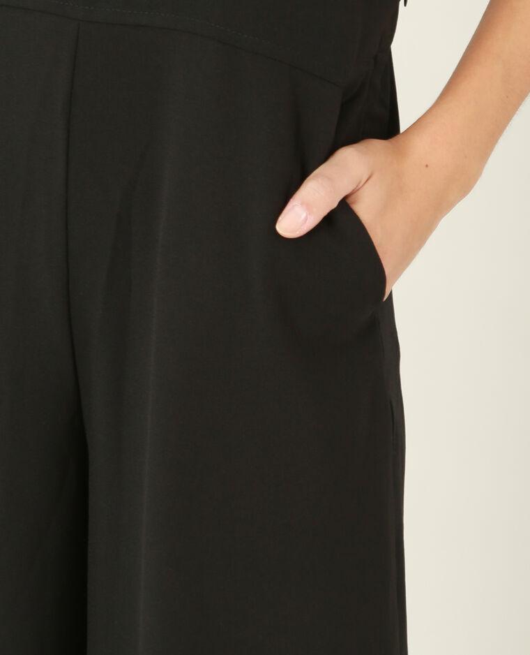 Combi-pantalon fluide noir - Pimkie