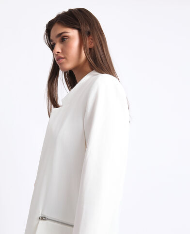 32cd50cf60e80 Manteau léger blanc