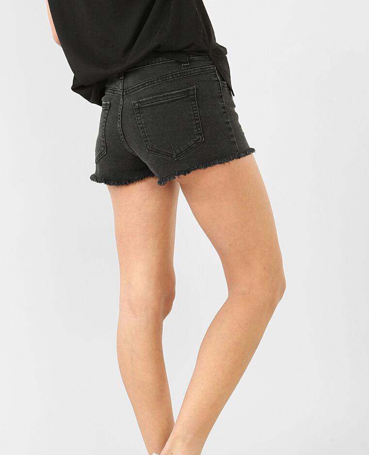 Mini short denim noir  Mini short denim noir 80dc0f25e4f