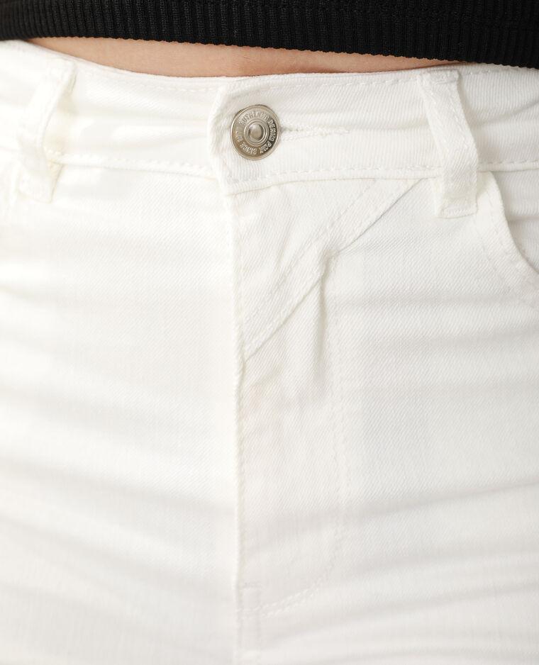 Jean flare high waist blanc - Pimkie