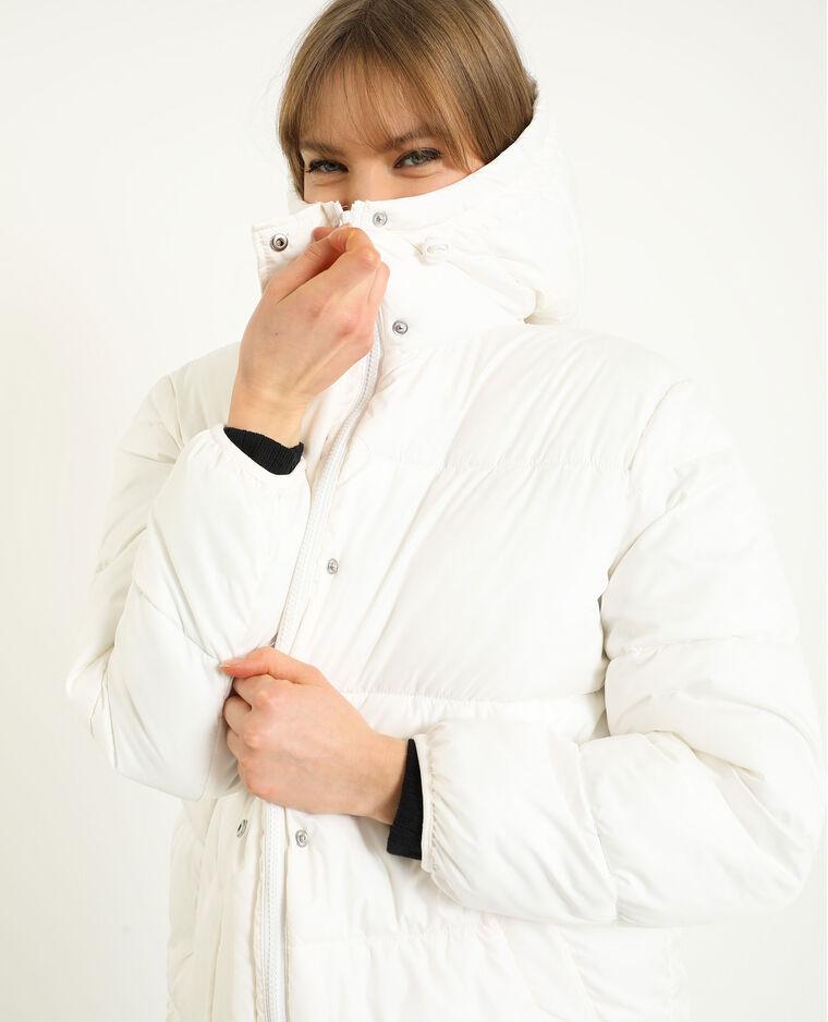 Doudoune oversized blanc
