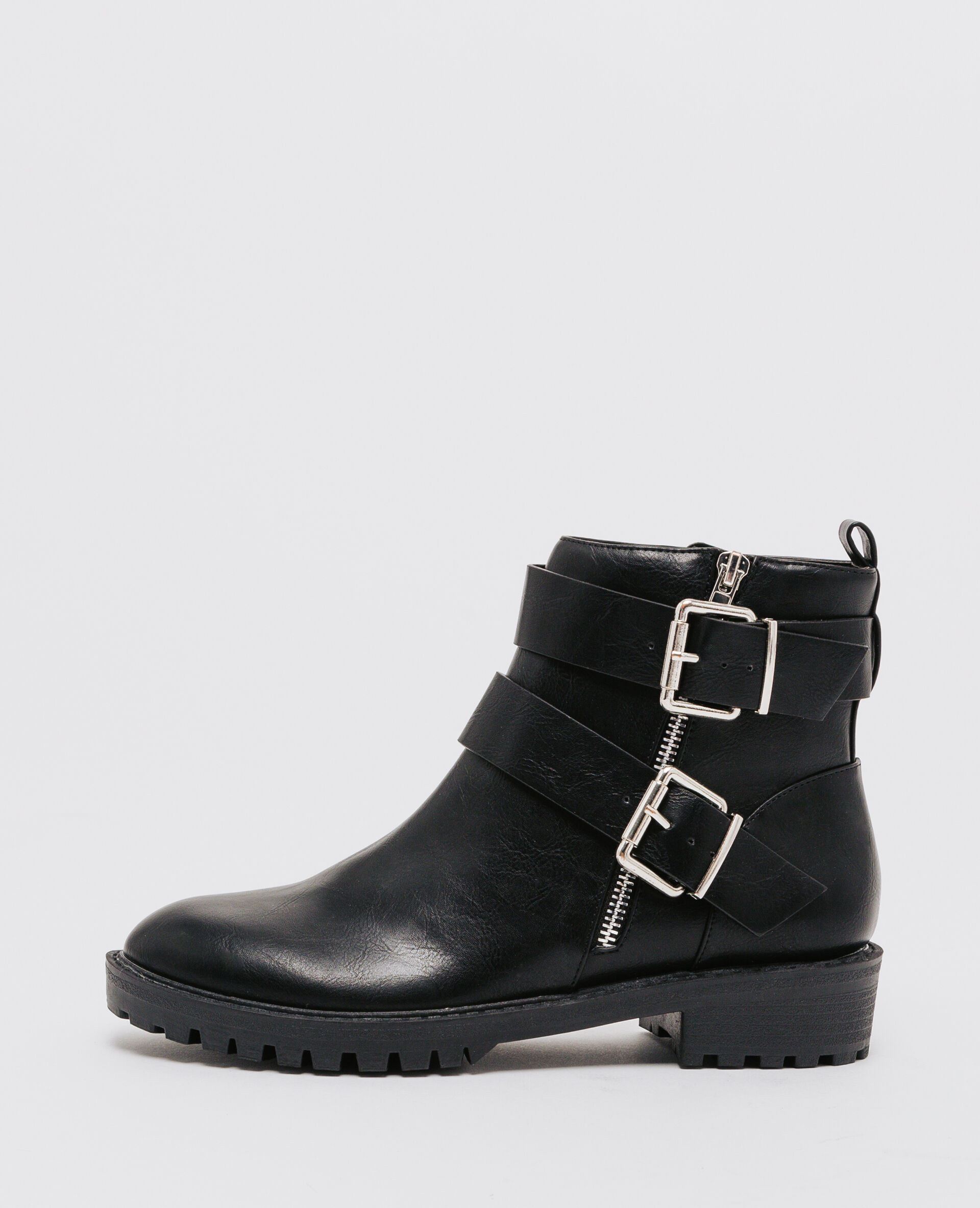 Motard Boots Pimkie Esprit Noir 907190899a08 ZaaR50T