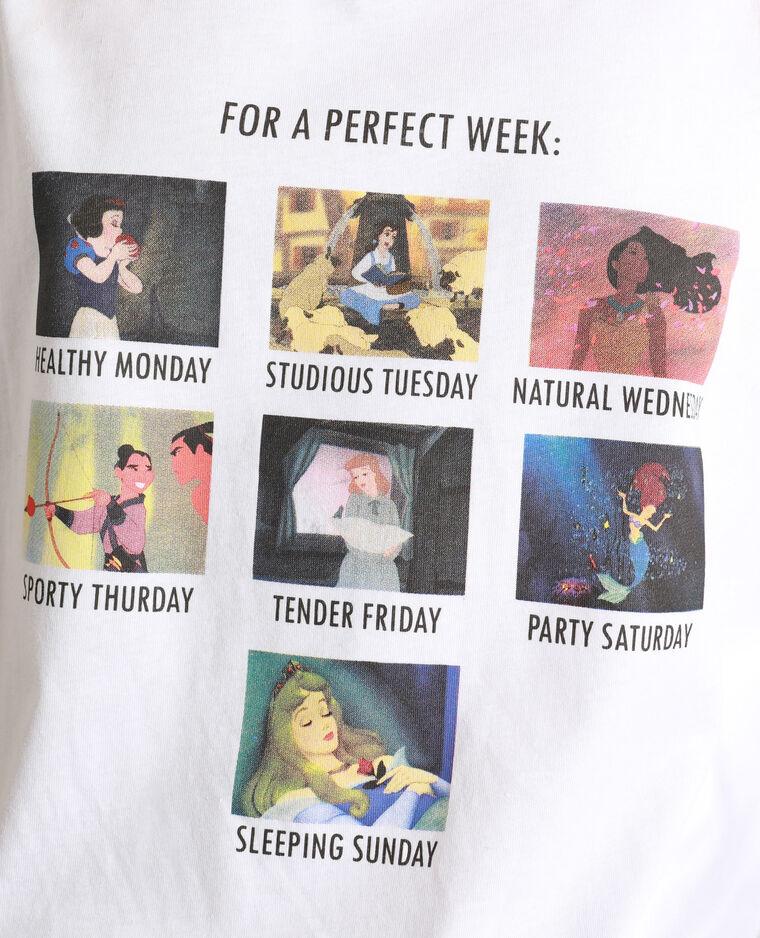 T-shirt Disney écru