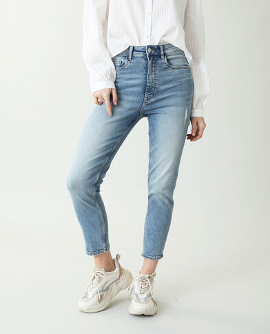 Jean skinny high waist bleu denim - Pimkie