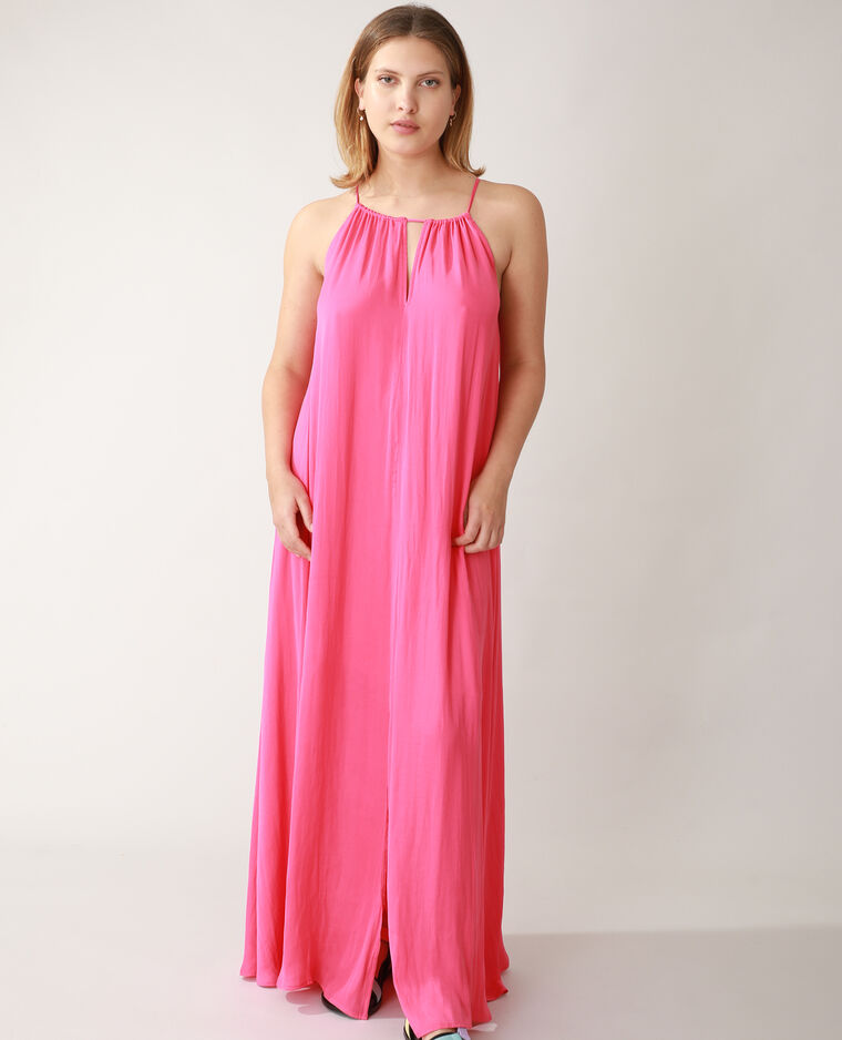 Robe longue rose - Pimkie