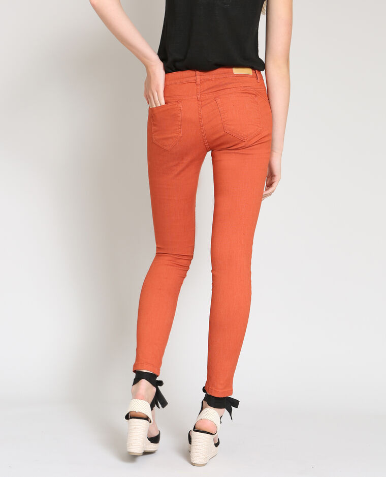Skinny push up orange