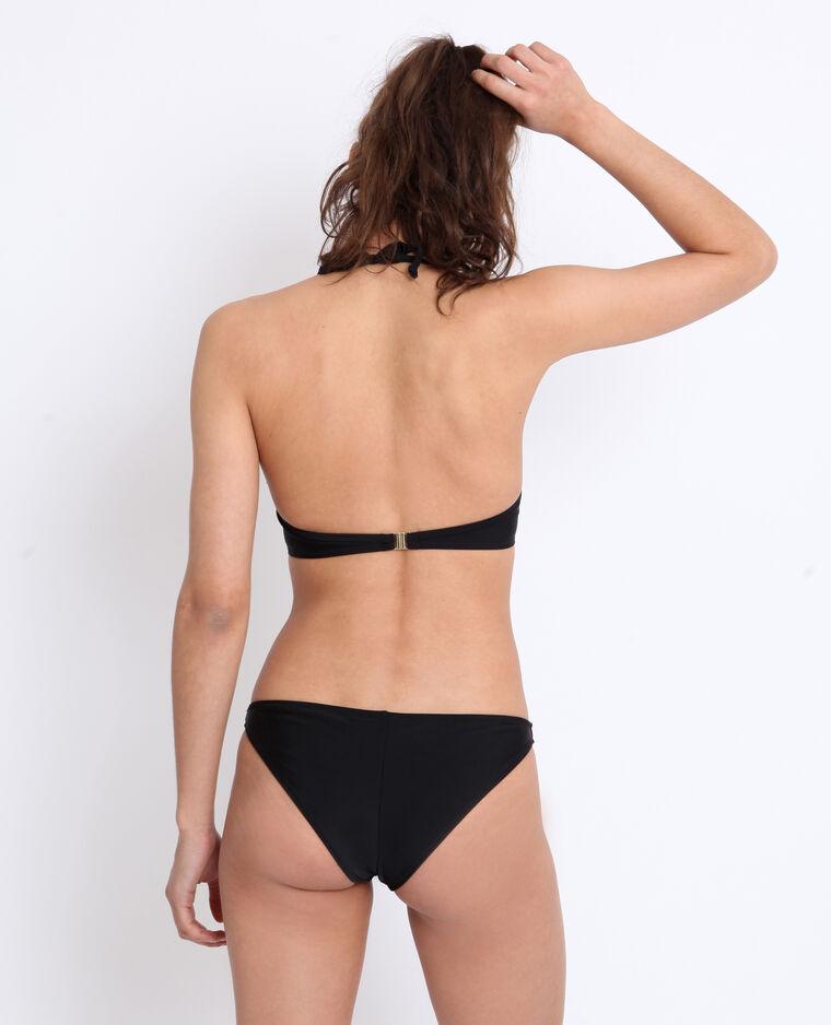 Bas de bikini tanga noir