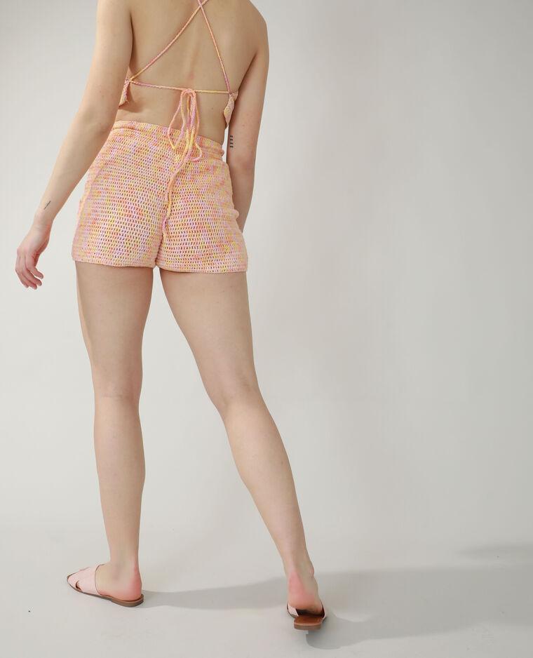 Short crochet rose - Pimkie