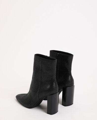 Boots à talons noir
