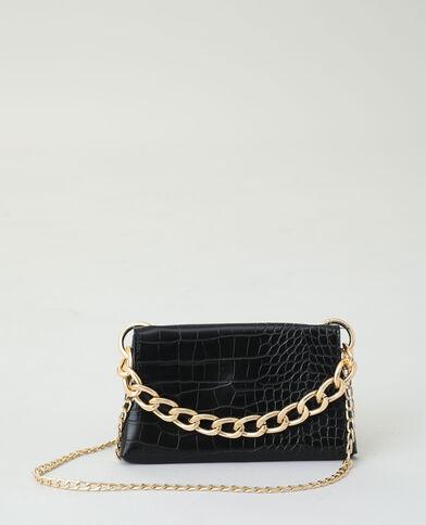 Petit sac chaine noir - Pimkie