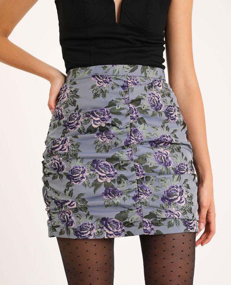 Jupe courte violet
