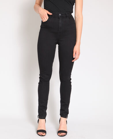 0bd9ee5fbc Jean skinny taille haute noir