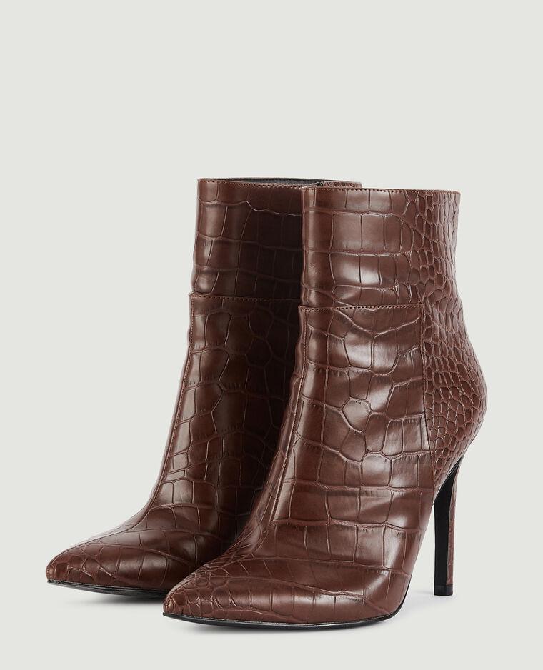 Boots pointues marron - Pimkie
