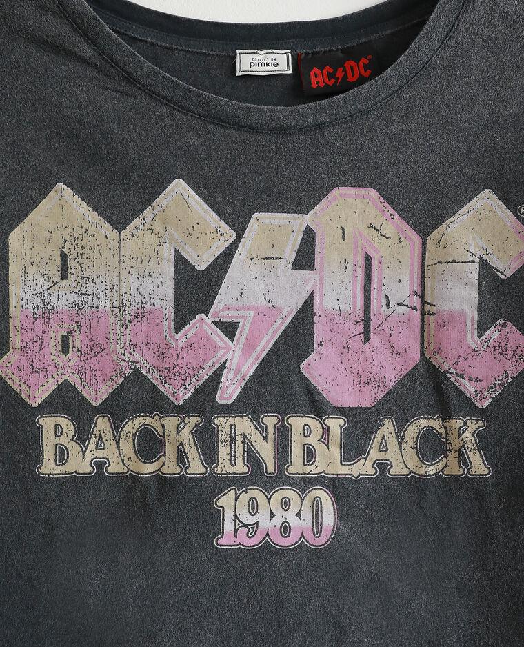 T-shirt AC/DC gris foncé - Pimkie