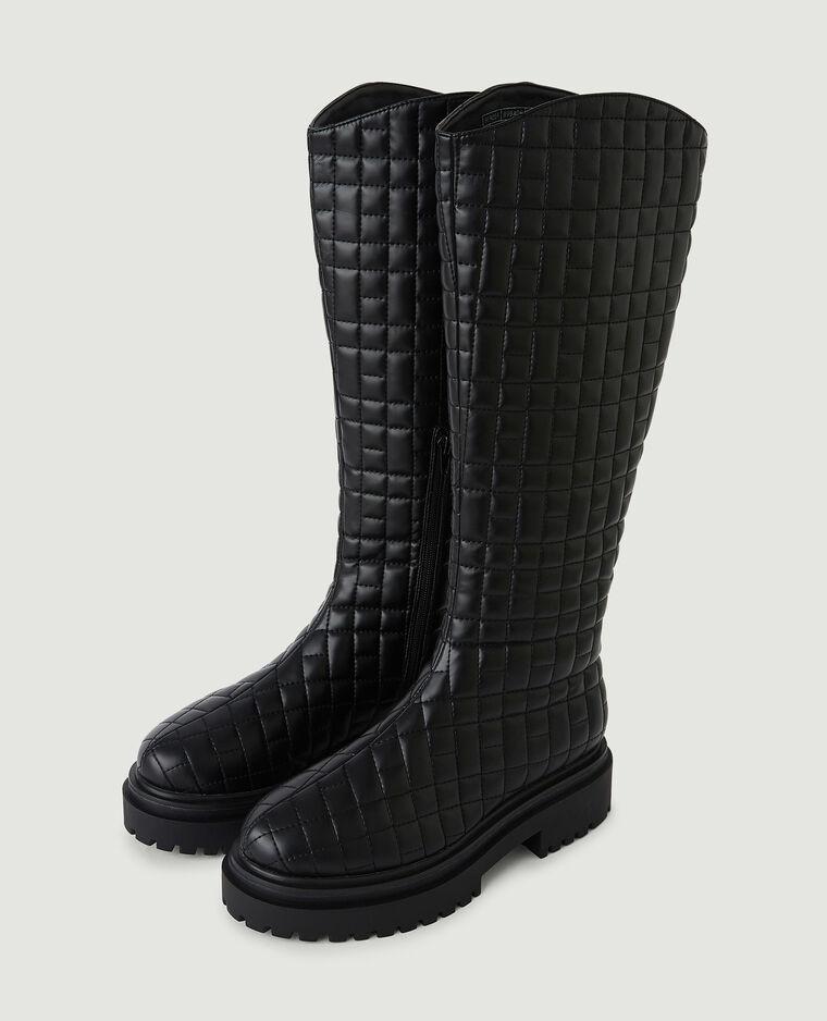 Bottes matelassées noir - Pimkie