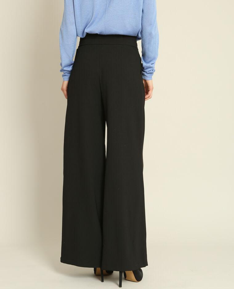 pantalon large noir 140552899a08 pimkie. Black Bedroom Furniture Sets. Home Design Ideas